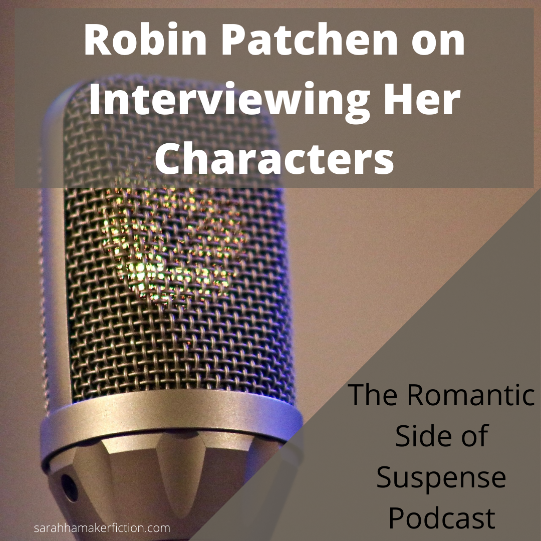 Robin Patchen podcast meme